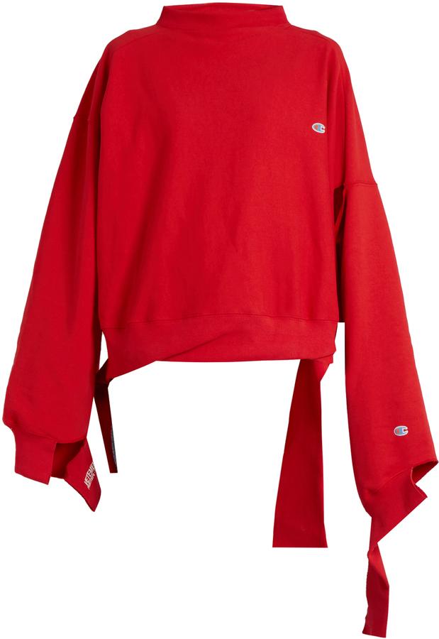 Vetements x Champion Oversized Sweatshirt