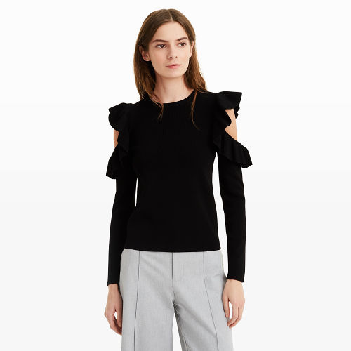 Club Monaco - Colema Cold Shoulder Sweater