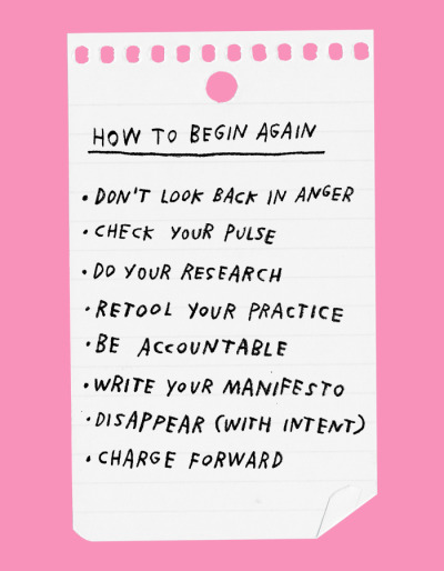 Starting over is cool via DNAMAG
