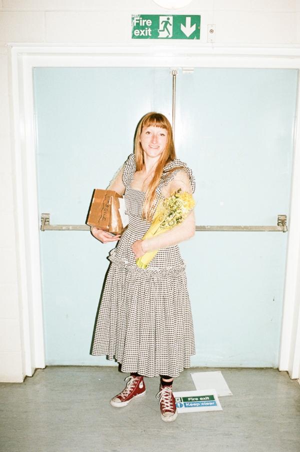 Inside Molly Goddard's studio via DNAMAG