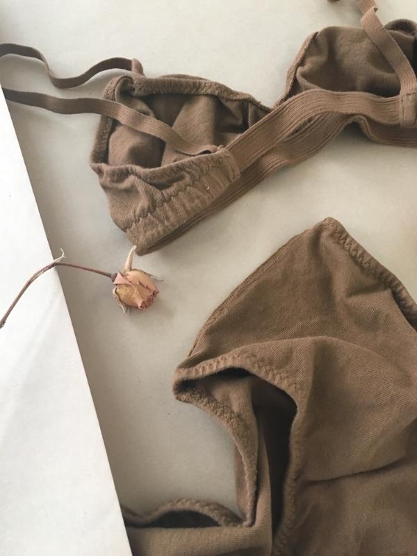 Organic Cotton Bra by Pansy