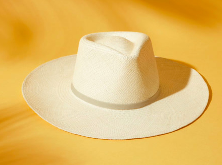 Your summer hat courtesy of Cuyana.