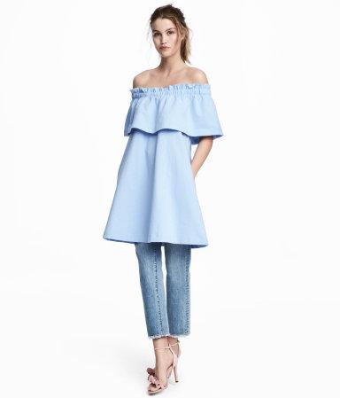 H&M Off-the-Shoulder Dress under $30