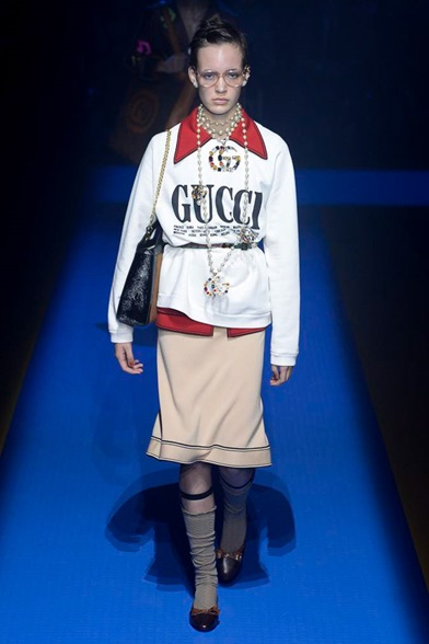 Gucci glam on glam ss18 via DNAMAG