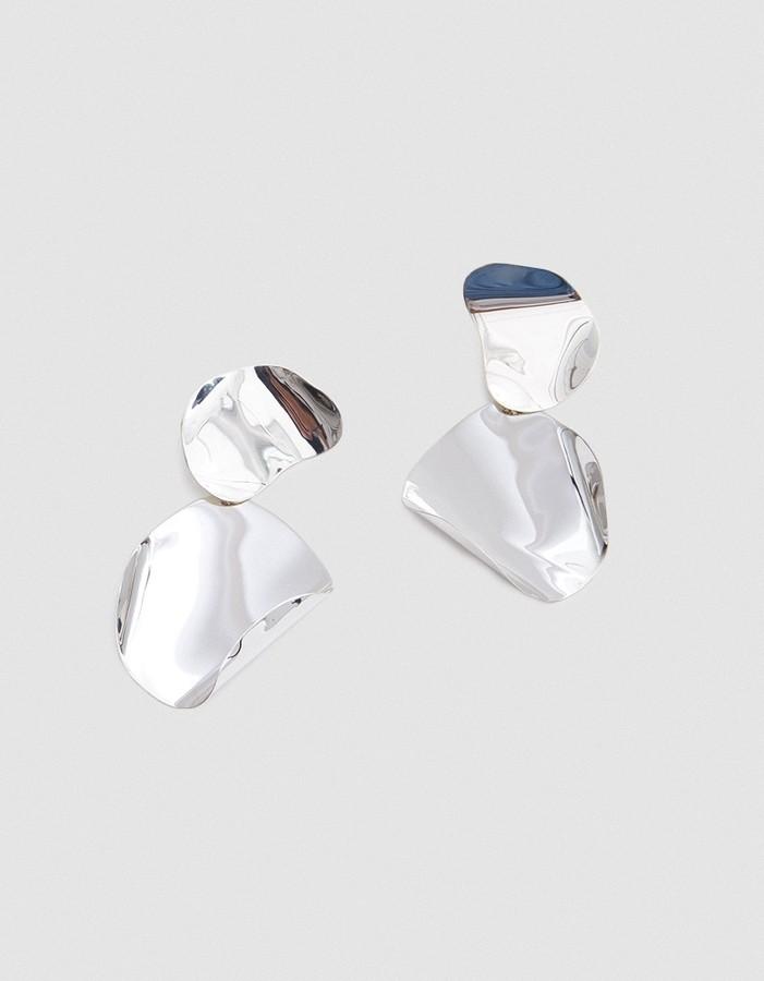 - DRAPE EARRINGS / Faris $325*photo via Need Supply