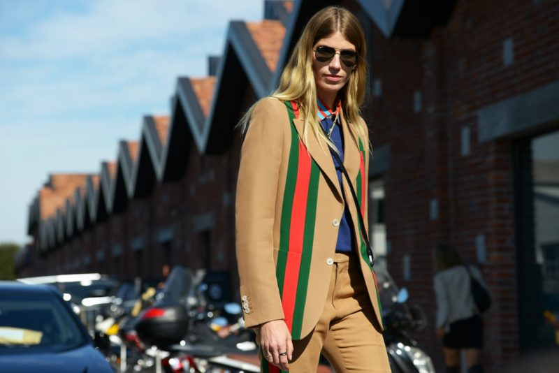 Street-style happened at MFW SS18