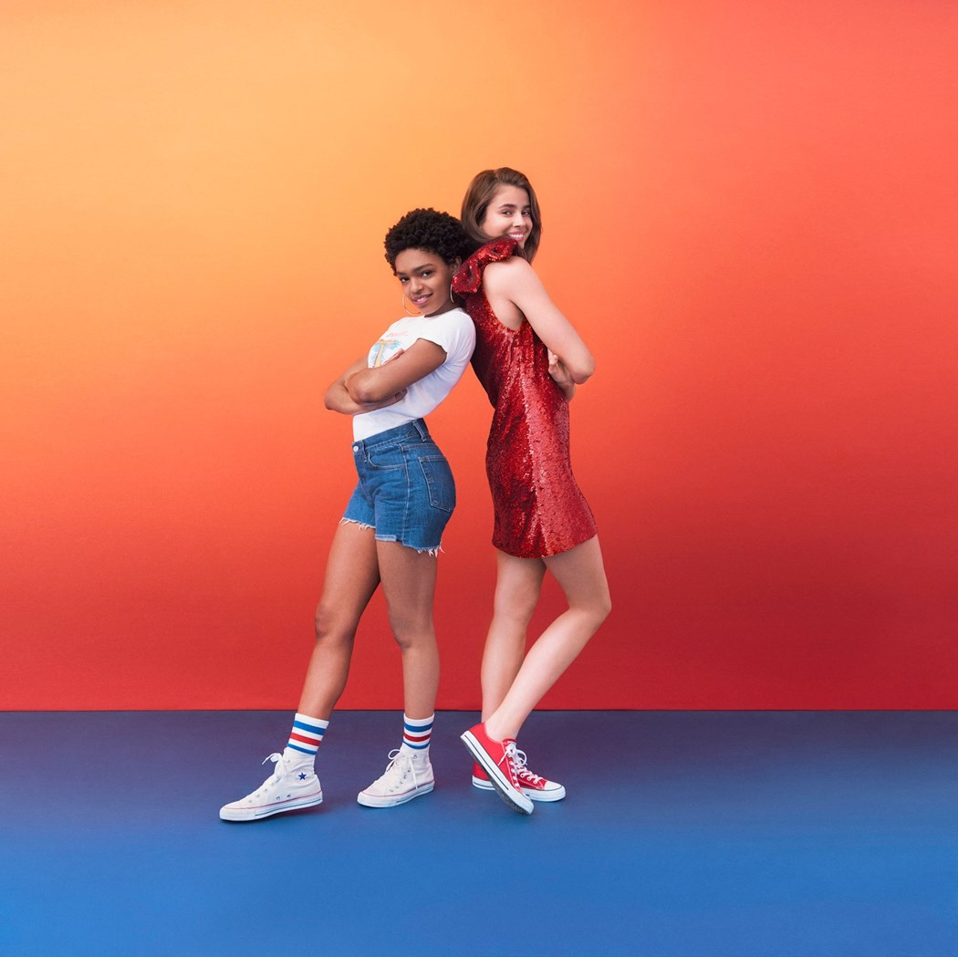 Forever Chuck campaign shot by Ryan McGinley ... via DNAMAG
