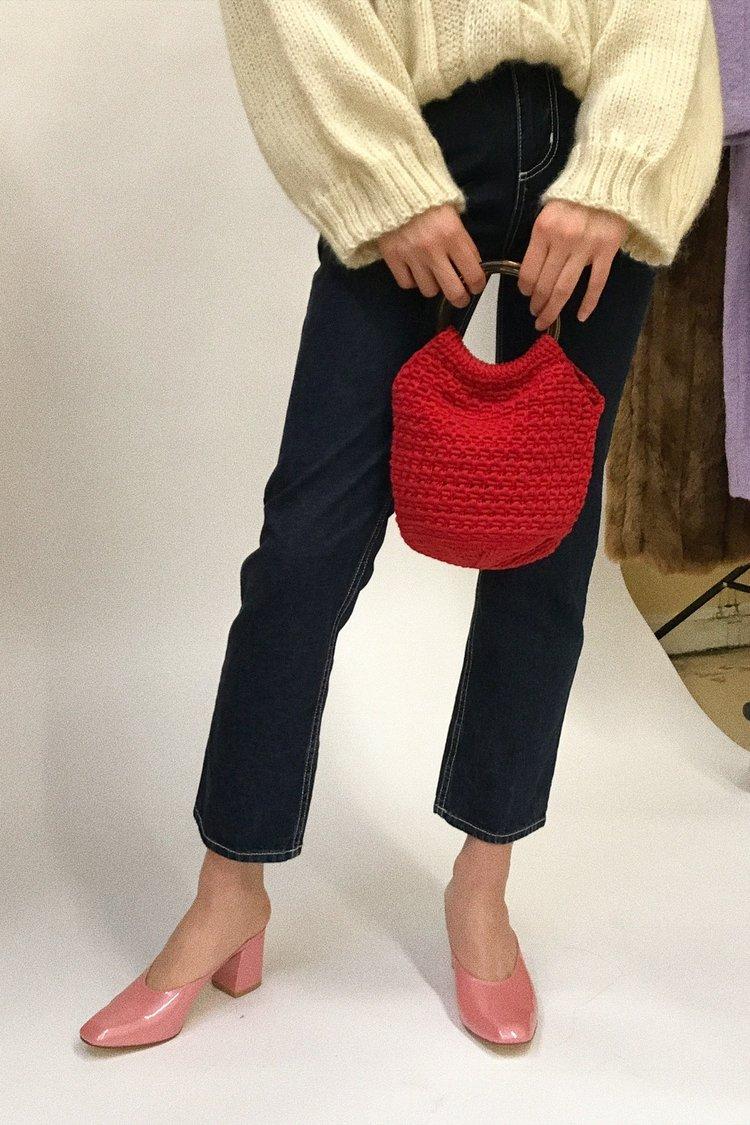- PRAIA CROCHET BAG / Rachel Comey $195 available at Lisa Says Gah