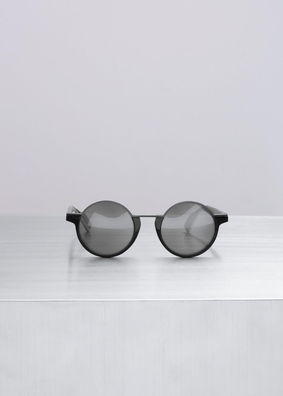 - HALF RIM ROUND SUNGLASSES / Yohji Yamamoto $550 available at Totokaelo