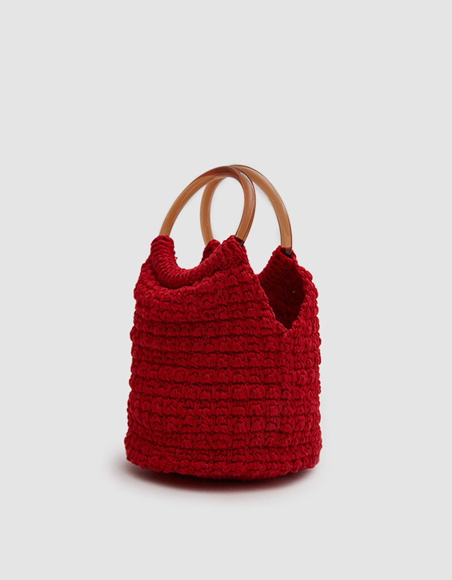 - PRAIA HAND CROCHET BUCKET BAG / Rachel Comey available at Need Supply $195