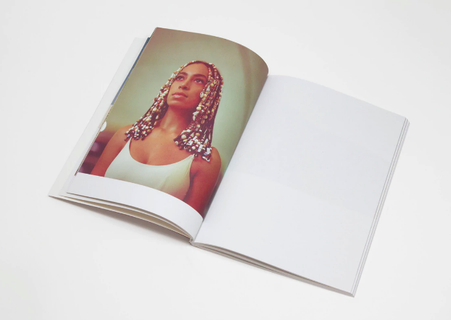 - (LIMITED EDITION) A SEAT AT THE TABLE ART BOOK / Solange Knowles available at Saint Heron $30