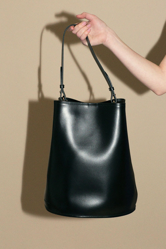 - LARGE BUCKET BAG / Creatures of Comfort $595 available at Bona Drag