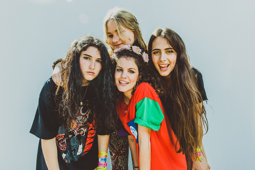 Favorite girl band: Hinds // DNAMAG