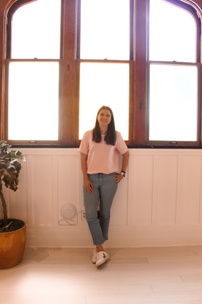 Molly Goodson of The Assembly in San Francisco, a clubhouse for women // DNAMAG (ph: Alexandria Yip)