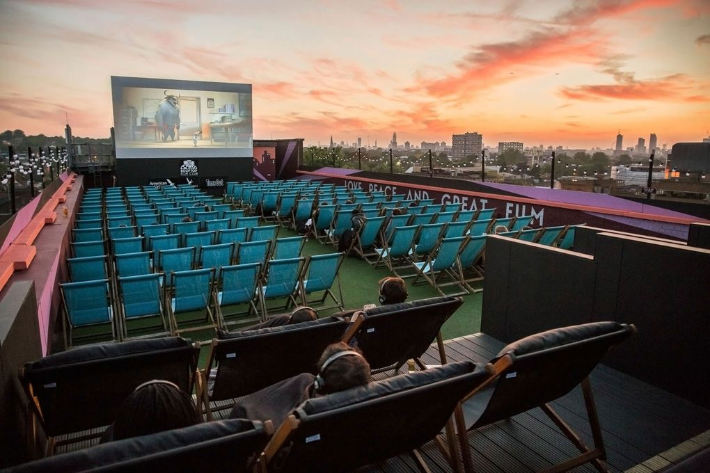 Rooftop Film Club in London