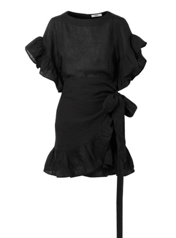 - DELICIA RUFFLED MINI DRESS / Isabel Marant Etoile $285 available at Net-a-Porter