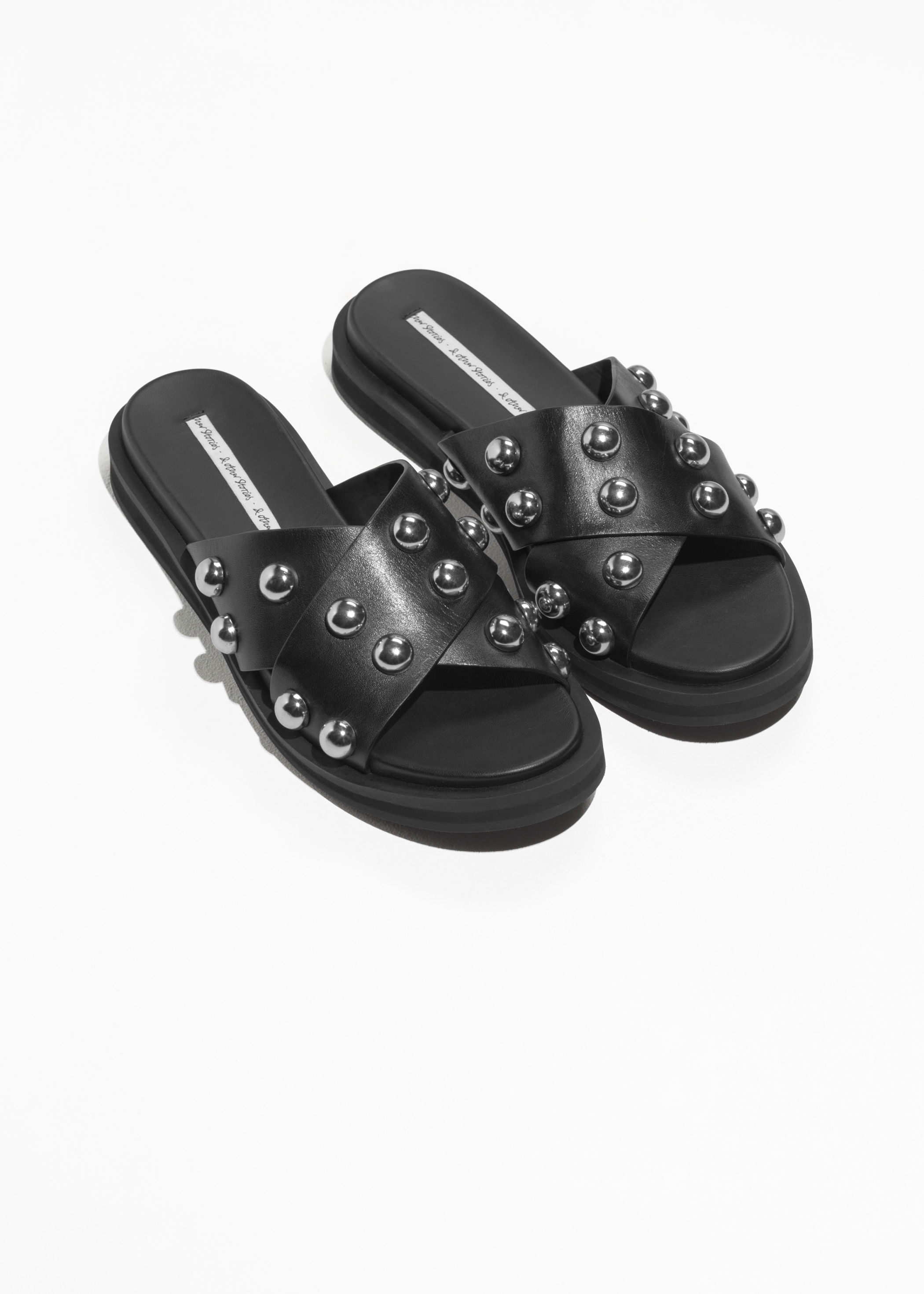 & Other Stories / Studded Criss Cross Slips -