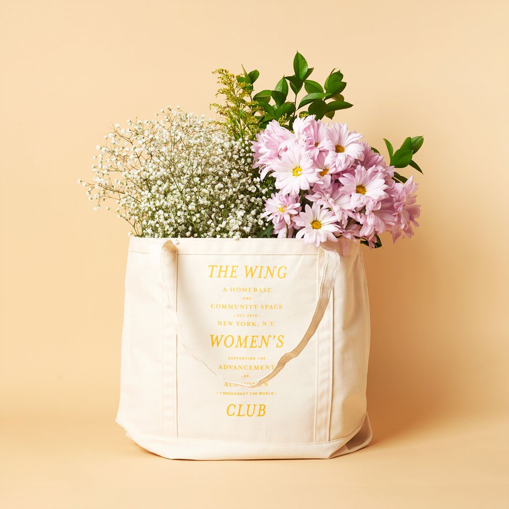 The Wing Women's Club XL Tote