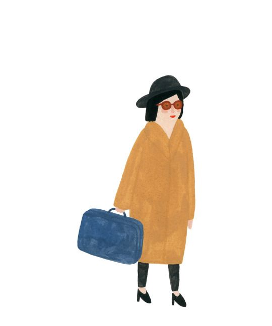 Don't Take Your Whole Closet - I made the mistake of bringing every last bit of clothing to college, and about half of it just sat there the whole year. Limit your wardrobe down to what you know you will wear. Chances are you will want to experience different styles in college, and this way more storage is available in your closet to add to. (illustration: Kate Pugsley)