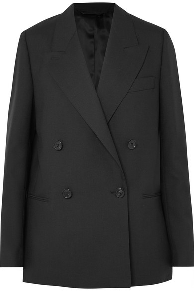 Double Breasted Wool Blazer by Acne Studios $700