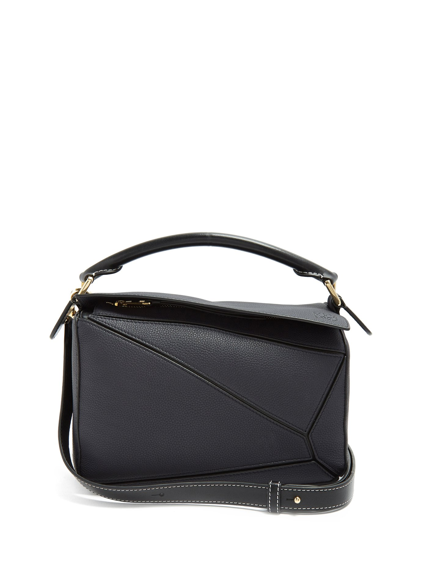 Puzzle Small Grained Leather Crossbody Bag by Loewe $2,190