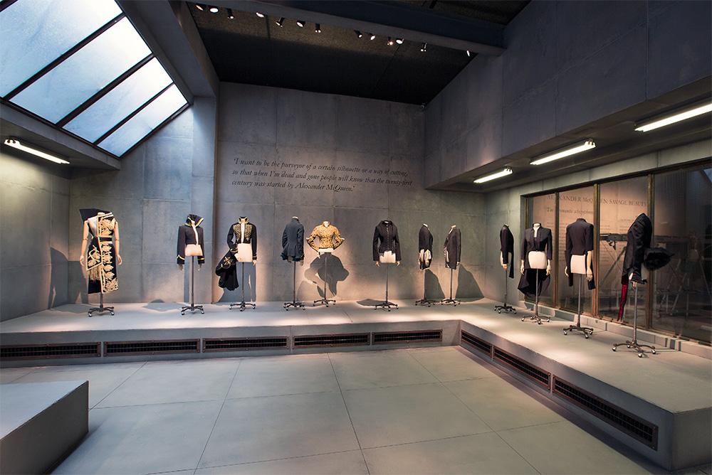 McQueen Exhibit at Victoria and Albert Museum, London