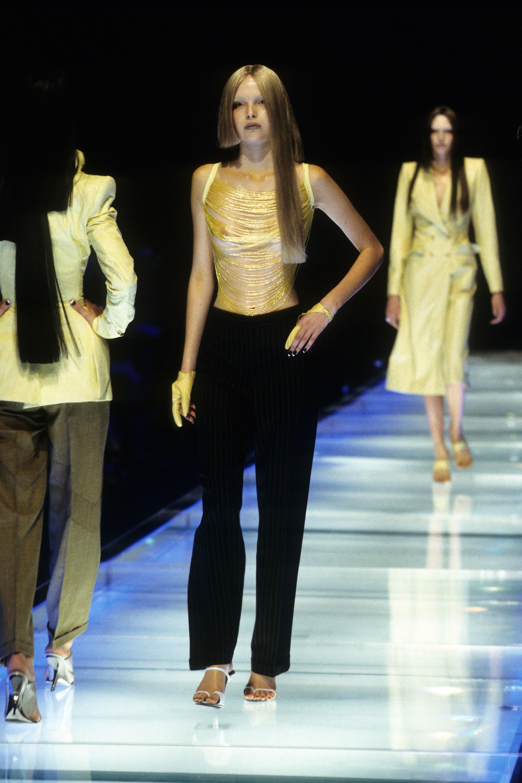 Alexander McQueen Spring 1998 via Vogue archives