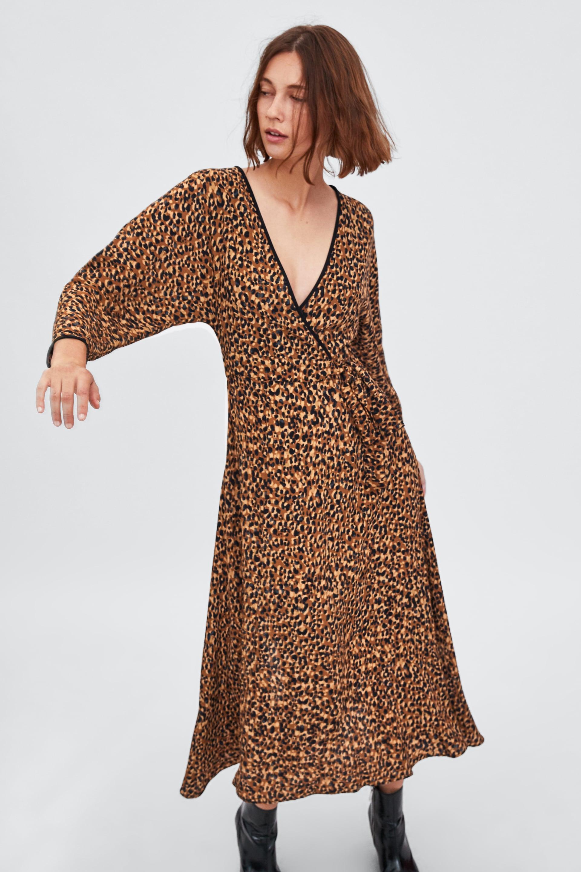 ZARA / ANIMAL PRINT DRESS $49.90  -