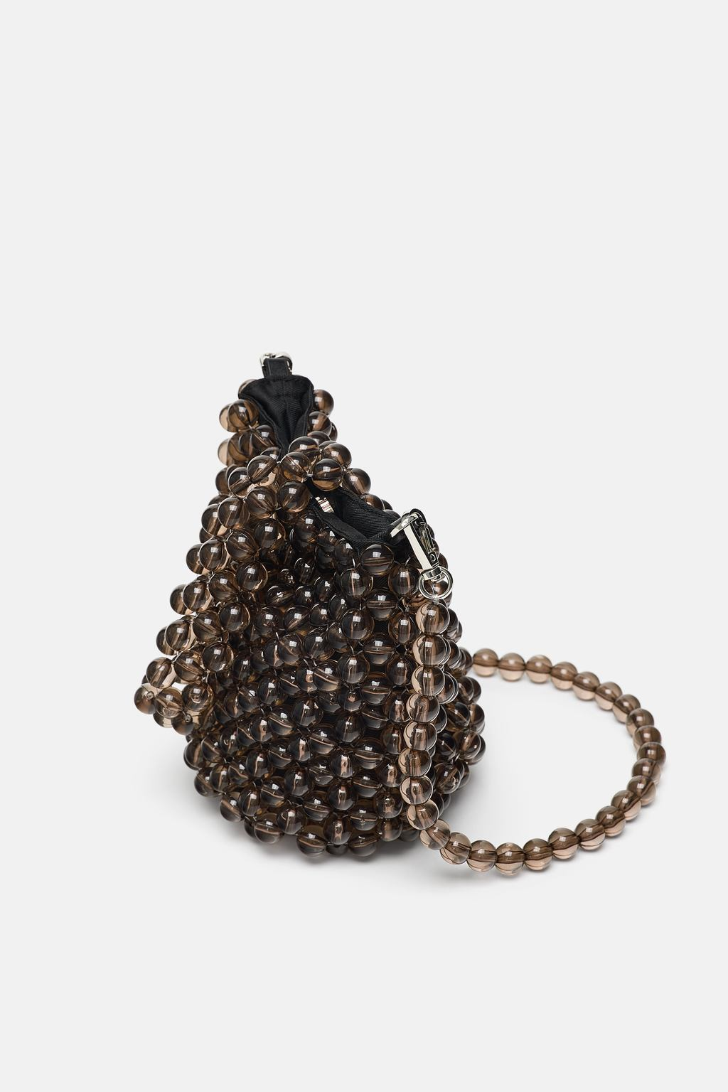 MINI BEADED BUCKET BAG $59.90 -