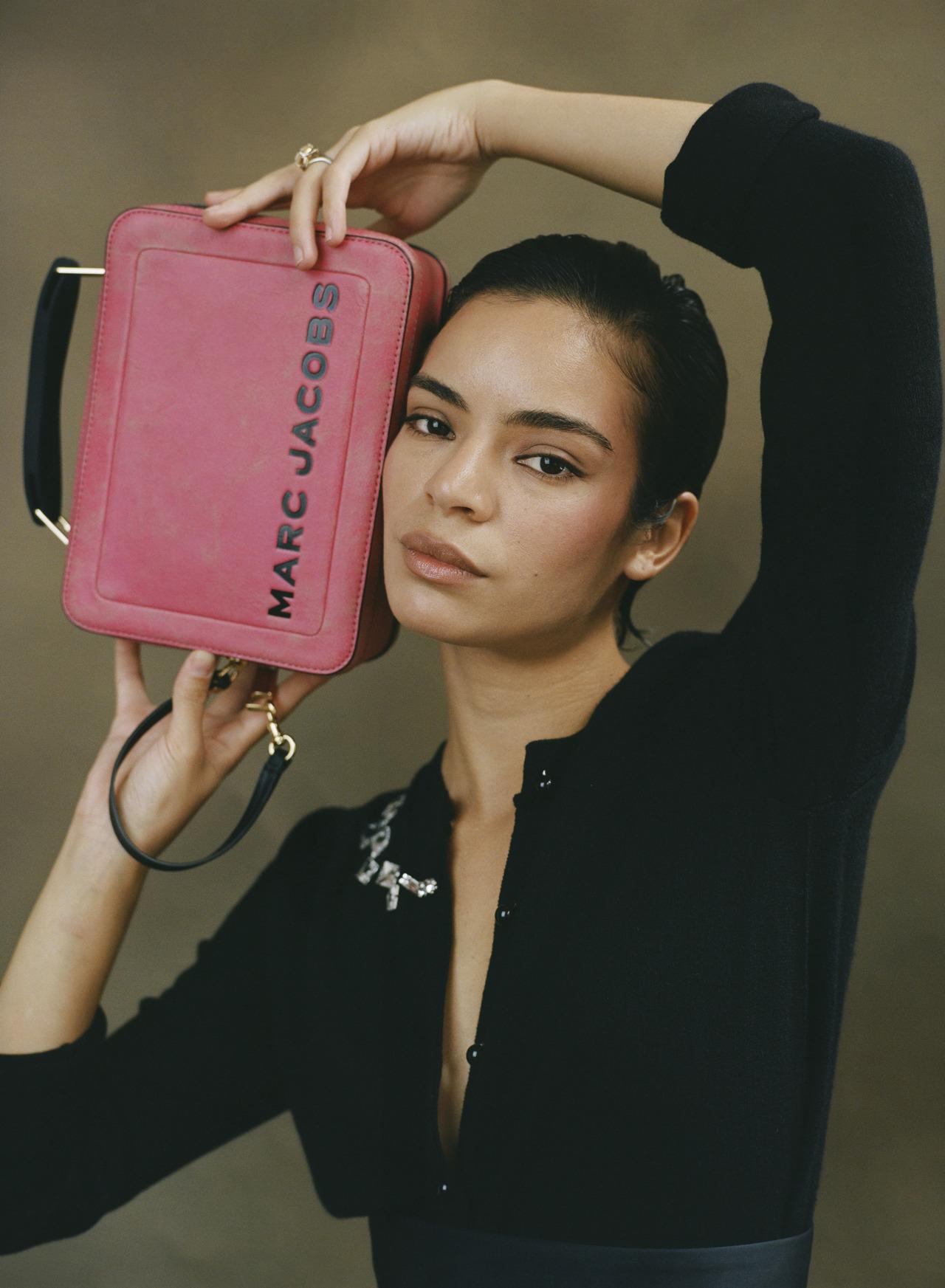 Coco Baudelle x Marc Jacbos Box Bag