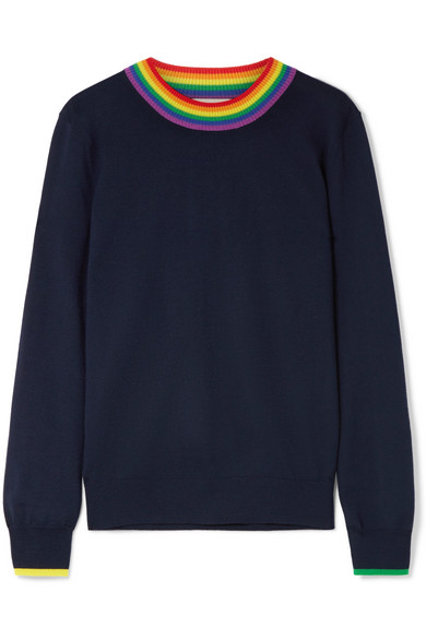 BURBERRY / MERINO WOOL SWEATER $420 - available at Net-a-Porter