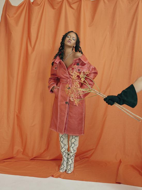 Nadine Ijewere / Rihanna for Allure Magazine