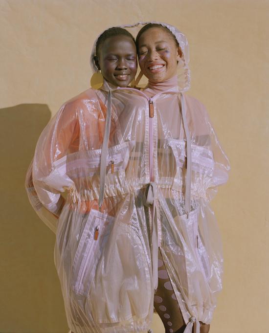 'cheek to cheek' for Allure Magazine, photographed by Nadine Ijewere
