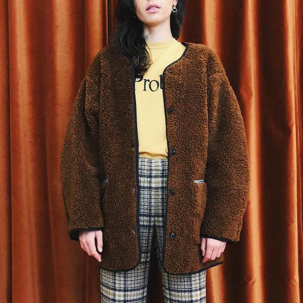 CREATURES OF COMFORT / SHERPA COAT $575 - available at LCD