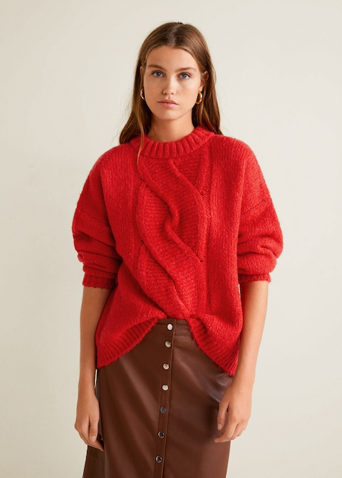CABLE KNIT SWEATER $70 -