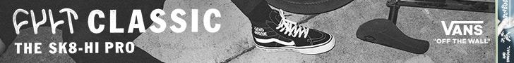 Cult classic, the Sk8-Hi Pro by Vans