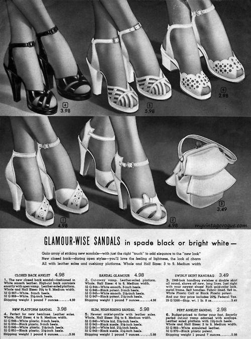 The many faces of the ankle strap // DNAMAG