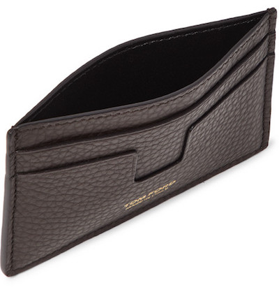- TOM FORD / LEATHER CARDHOLDER $250 available at Mr. Porter