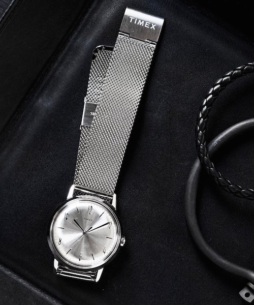 - TODD SNYDER X TIMEX / MARLIN MESH BAND WATCH $209