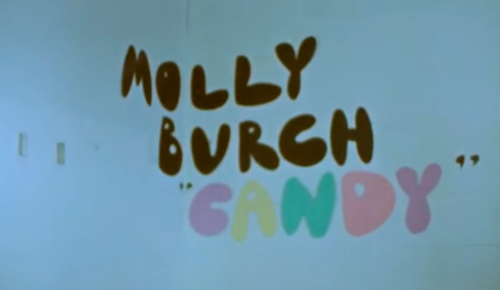 "Molly Burch ""Candy"" video"