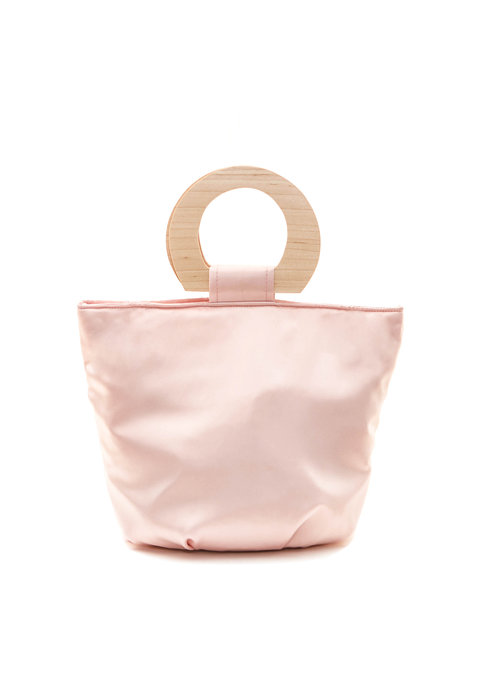Sophie Monet pink amour bucket bag