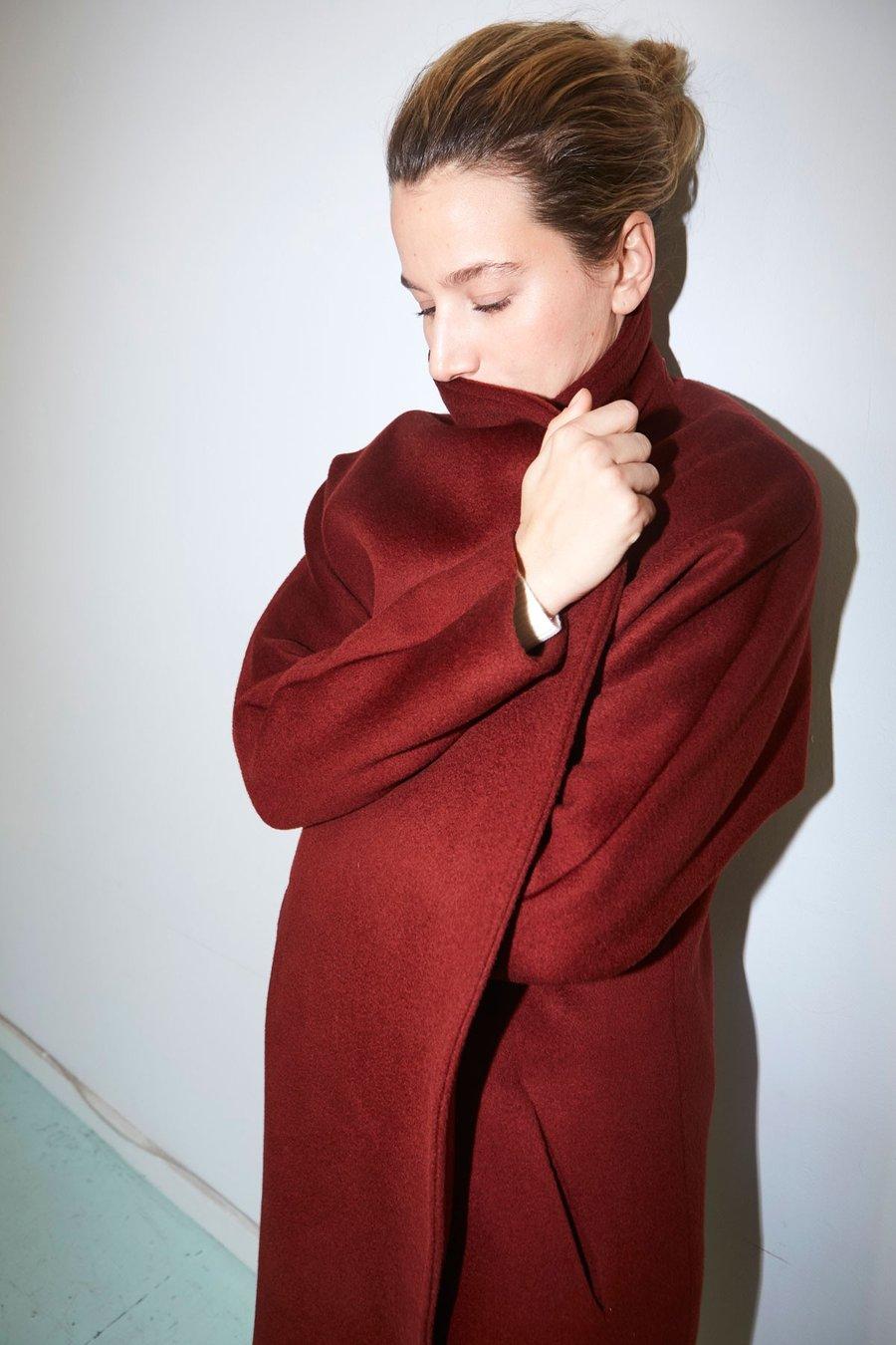 Caoba Escape Futura Coat by Datura