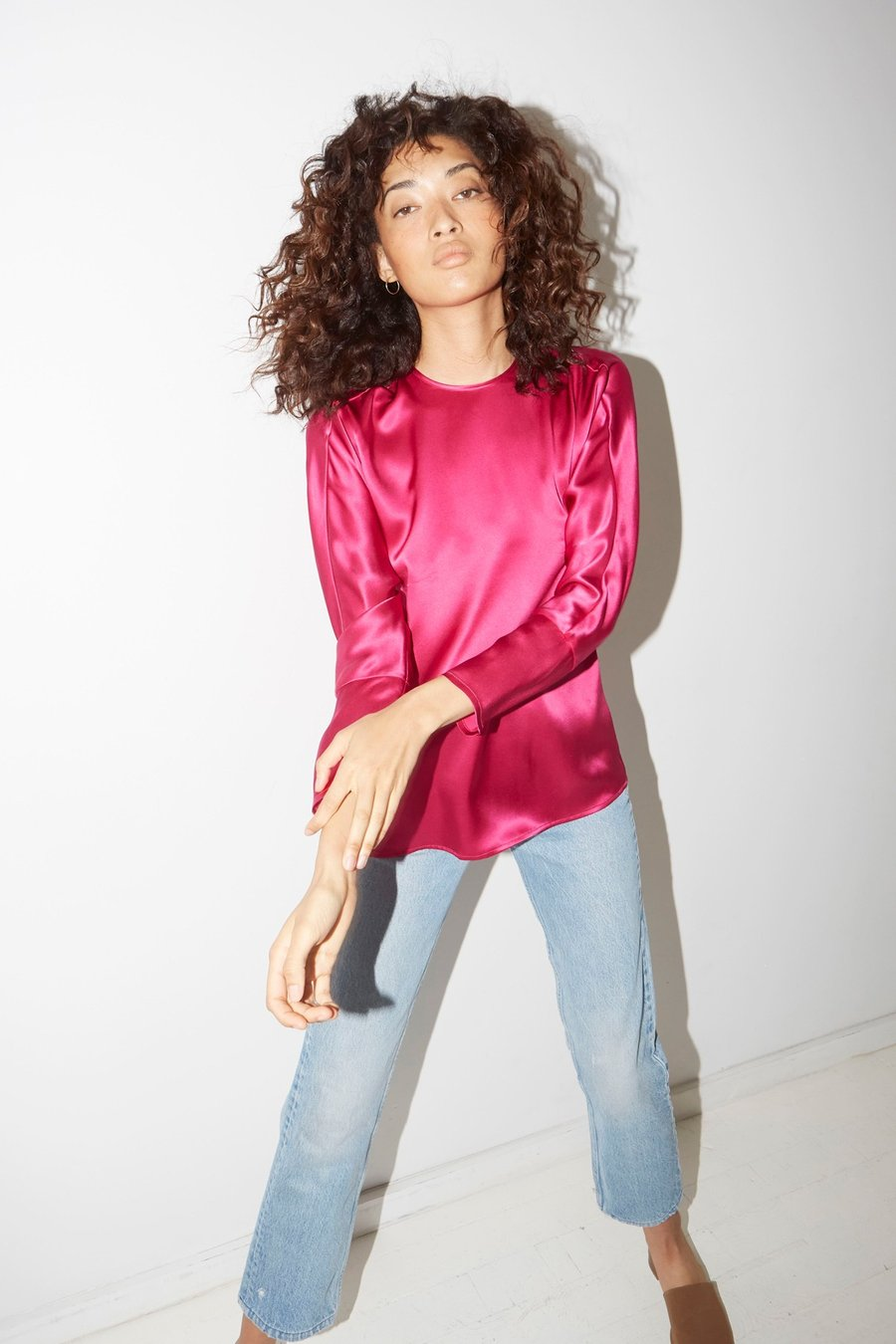 Dragon Pink Esther Top by Datura
