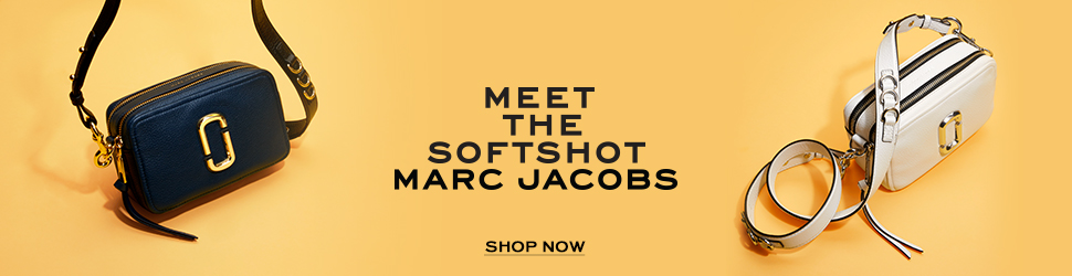 Marc Jacobs soft shot bags