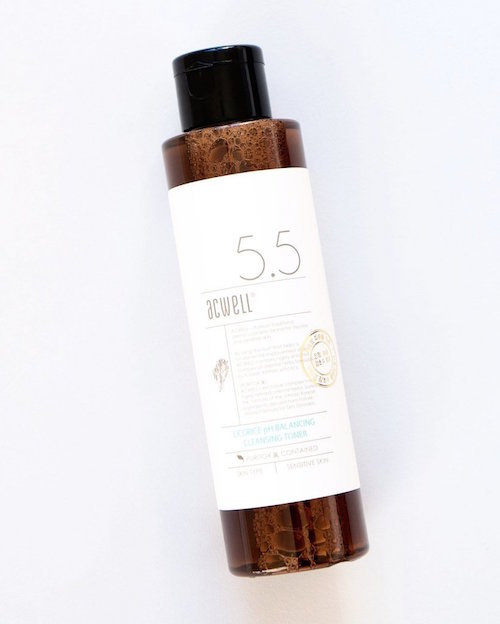 ACWELL / LICORICE PH BALANCING CLEANSER TONER $18 - available at Soko Glam