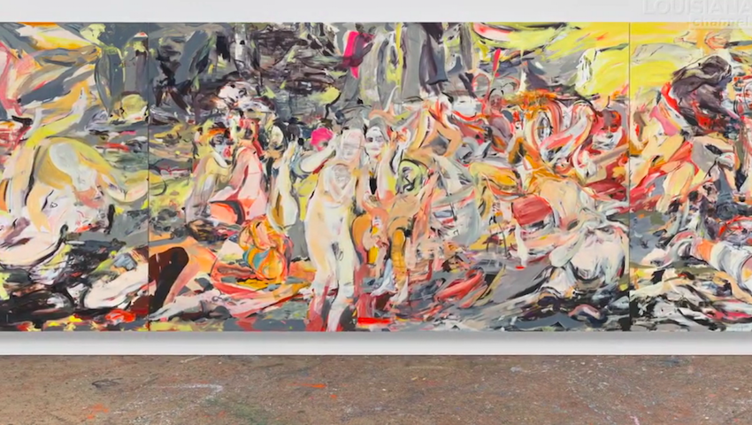 Watch Cecily Brown's interview // DNAMAG