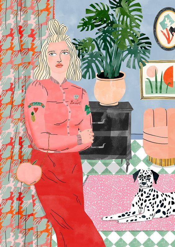 'Lucky Girl' by Bodil Jane