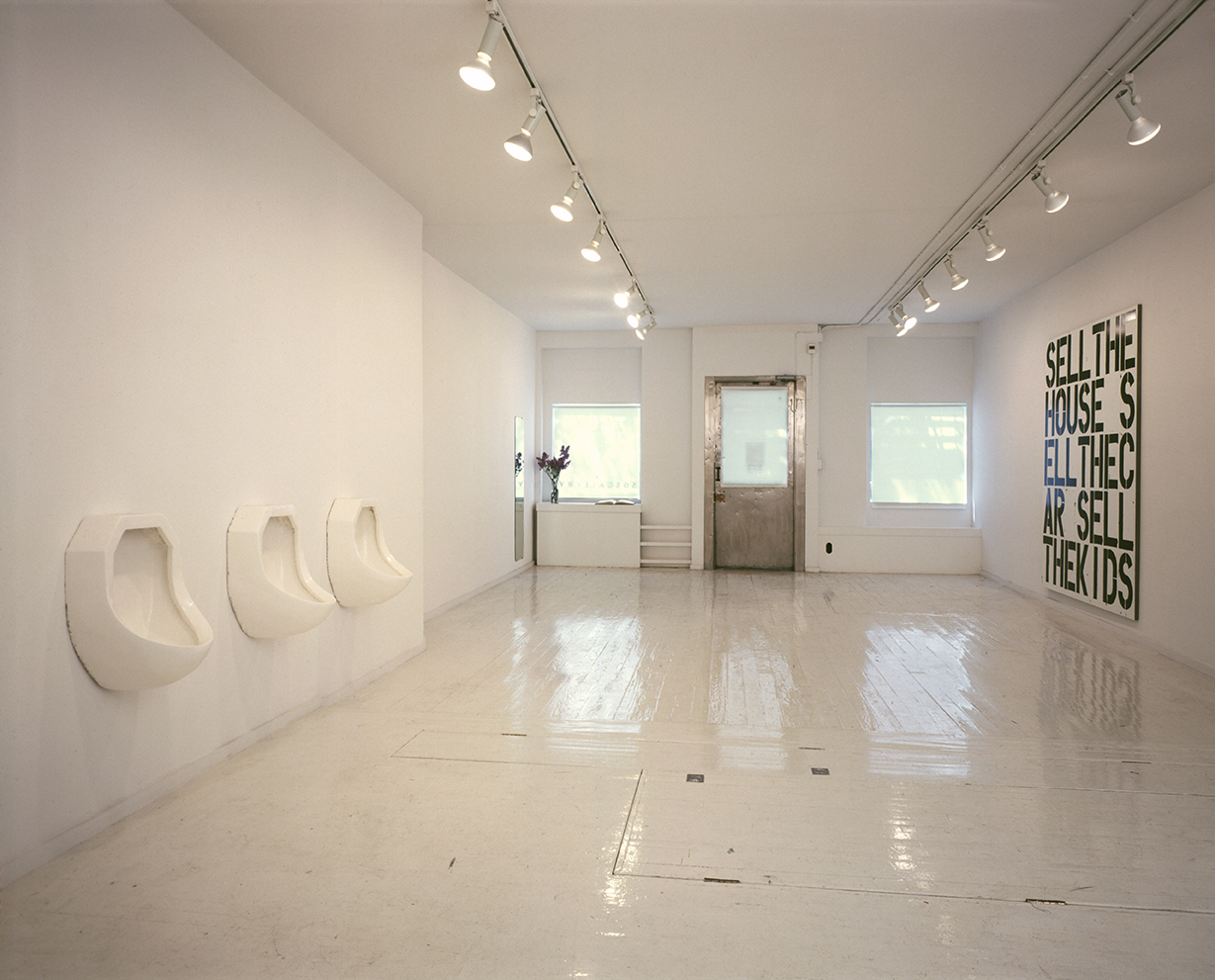 303 Gallery, 1988 Robert Gober & Christopher Wool