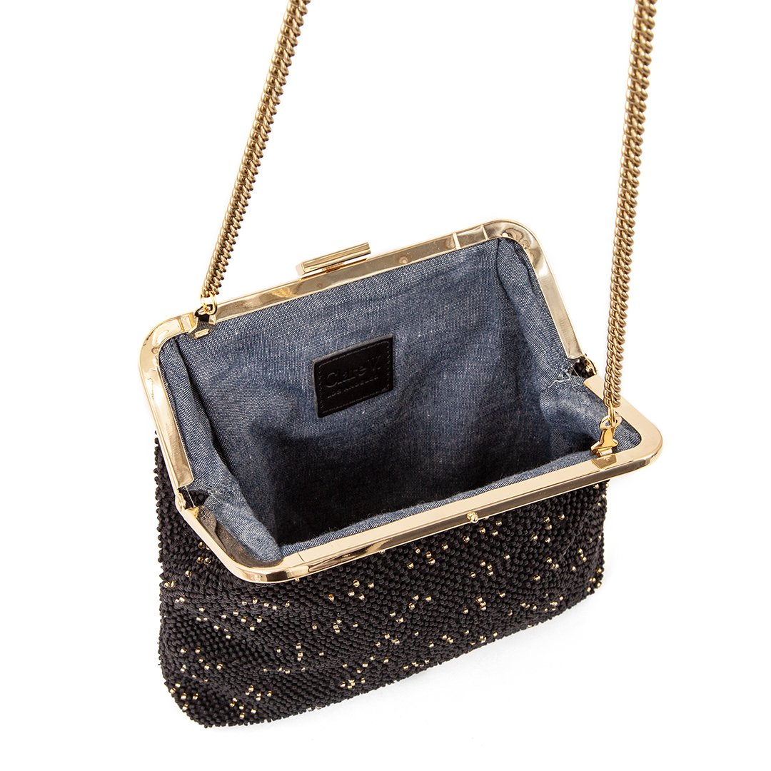 Flore beaded bag by Clare V