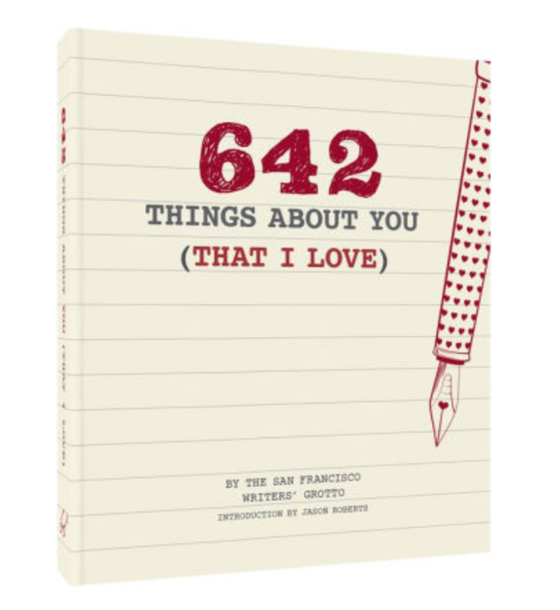 CHRONICLE BOOKS / 642 THINGS ABOUT YOU (I LOVE) $4 - available at Barnes & Noble